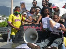 Protest Rally in Dili