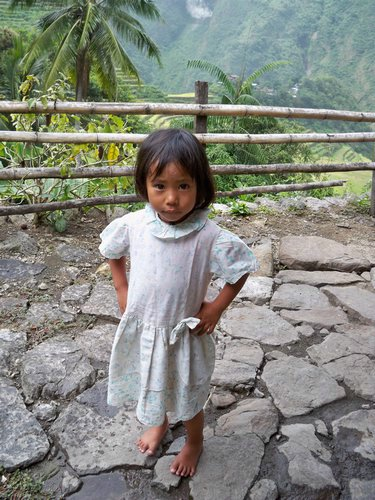 Kid from Batad