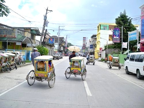 tricycle taxis in Catbalogan