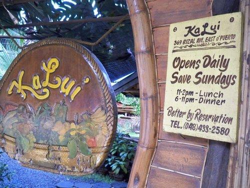 Ka Lui Restaurant Puerto Princesa