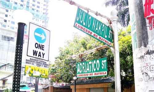 Malate corner Adriatico and Nakpil