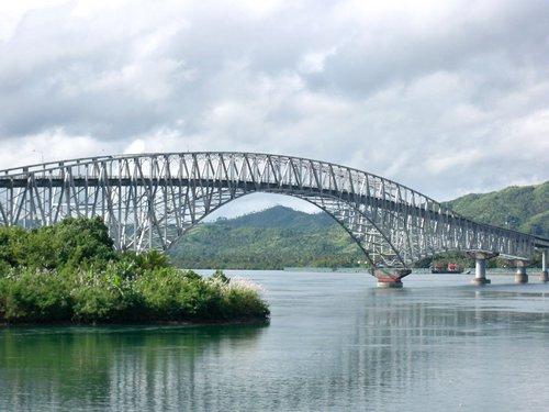 San Juanico Bridge between Leyte and Samar