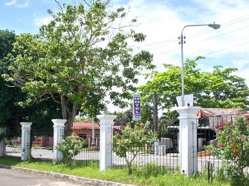 Tacloban City Convention Center grounds