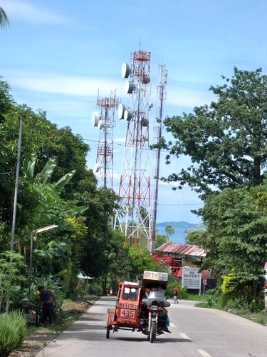 Catbalogan communication towers
