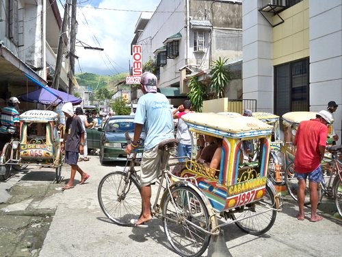 tricycles in Catbalogan
