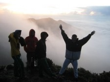 Climbing Mount Apo