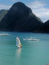 Windsurfing El Nido Palawan