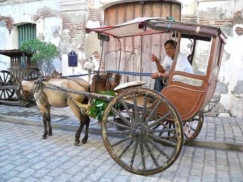 Vigan horse buggy