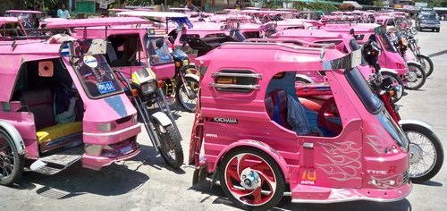 filipino tricycle transport