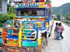 Sagada jeepney and friends