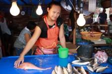 Rare orange fish