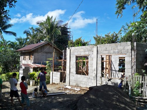 buildning a house in the philippines