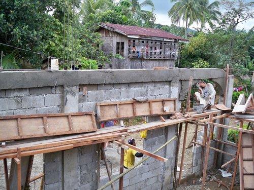 Building A Concrete Block House Part 3 Philippines