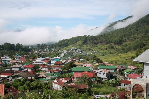 view from the Sagada Guest House