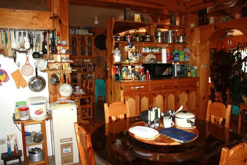 sagada homestay kitchen