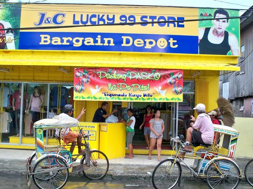 catbalogan tricycle outside Lucky99