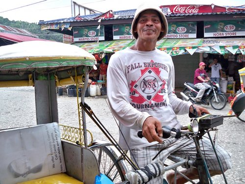 Catbalogan tricycle driver
