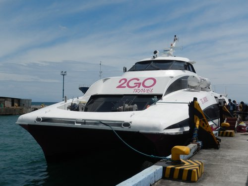 2GO TRavel fast ferry