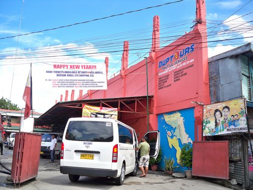 Duptours Shuttle terminal in Tacloban