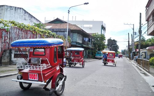 tricycle transport in the philippines