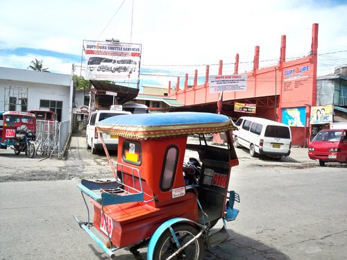 tricycle by Duptours in Tacloban
