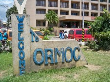 welcome Ormoc City sign