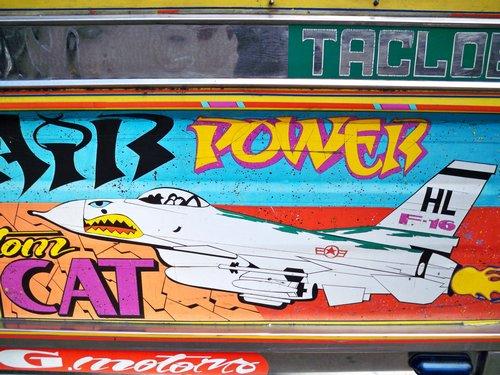 jeepney mural