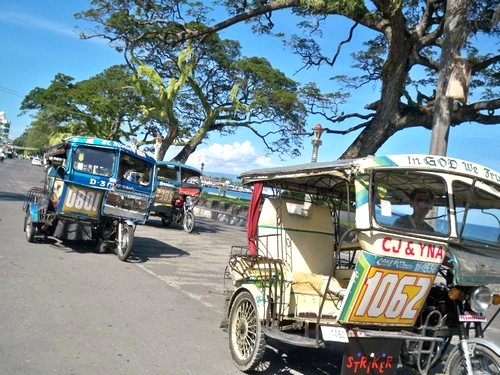 Dumaguete tricycle traffic
