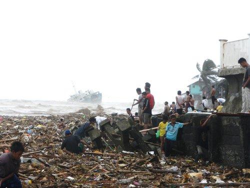 Sendong Dumaguete Washi shipwreck