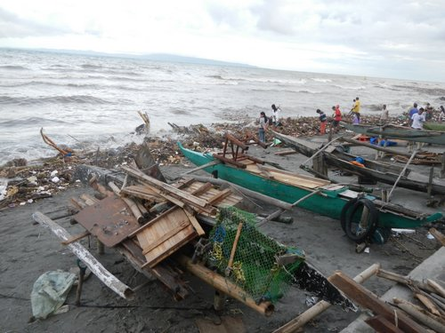 Dumaguete waterfront after the clean up