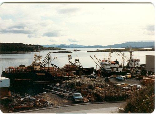 Kodiak Alaska docks