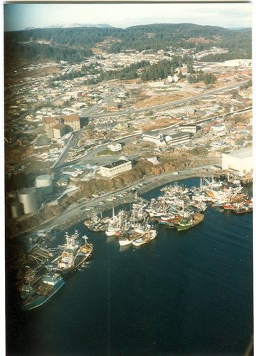 view of Kodiak from the air