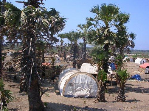 East Timor refugee camp 2006