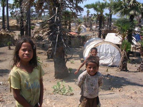 metanaro refugee camp East Timor