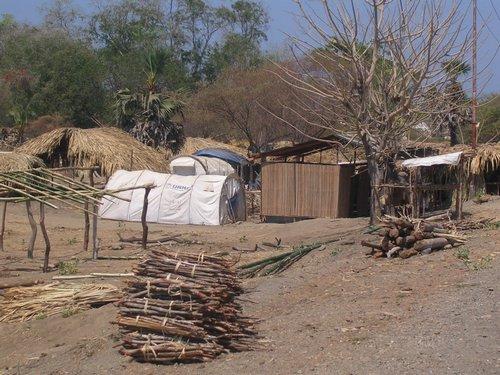 East Timor refugee camp