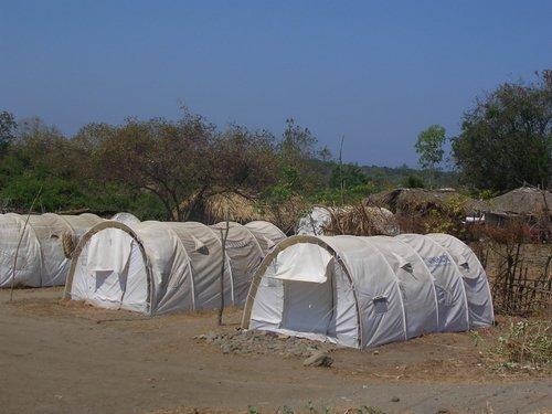 UN tents