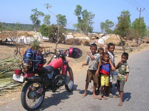 Metanaro camp East Timor