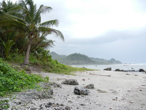 Pacific Coast Samar Philippines