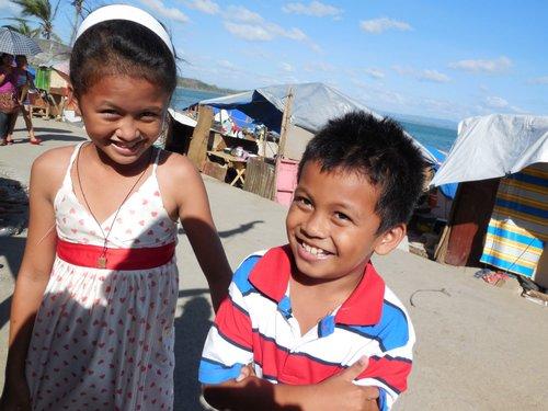 Tacloban kids