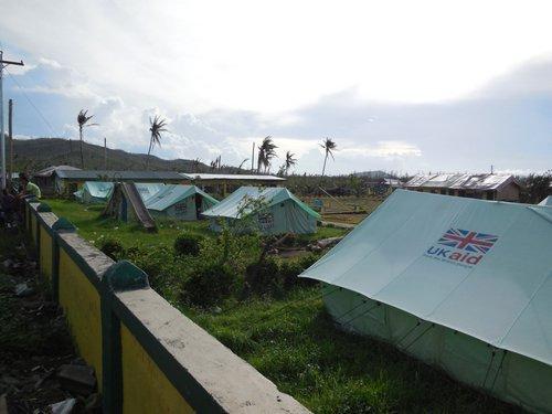 UKAID tents