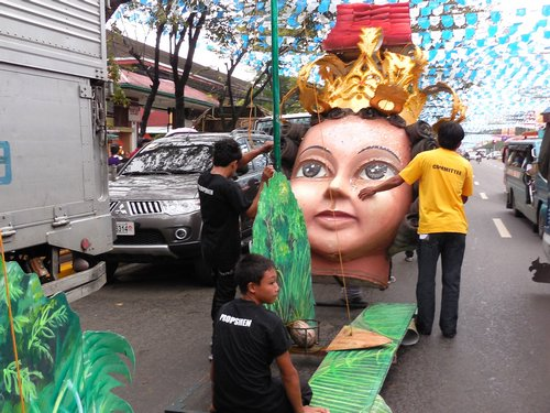 Sinulog Preparations
