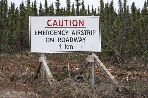 emergency airstrip