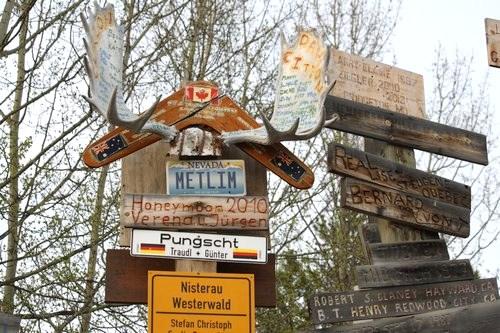 Watson Lake signs