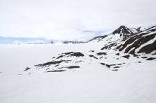 Harding Icefield near Seward Alaska