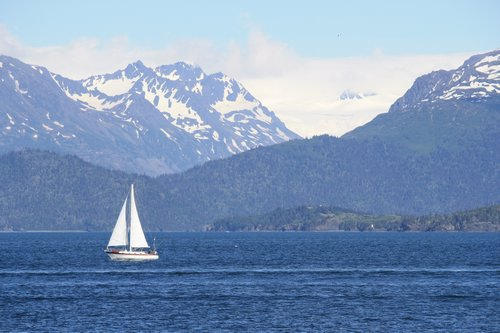Sailing Kachemak Bay